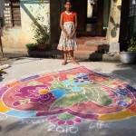 Le Nouvel An Hindouiste, la Fête des KOLAMS